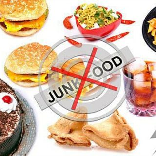 stop eating junk food
